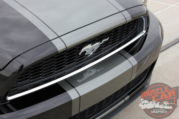 View of Center Racing Stripe for Ford Mustang VENOM KIT 2013-2014
