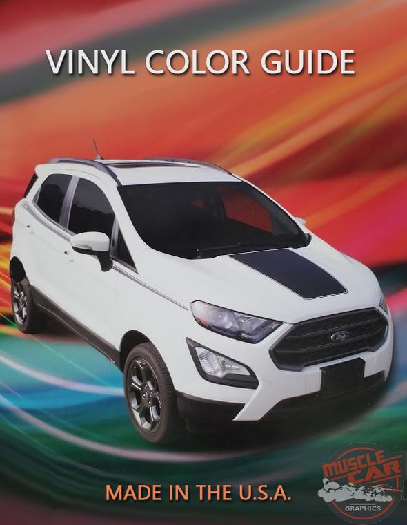 Vinyl Color Samples - Vinyl Color Chart