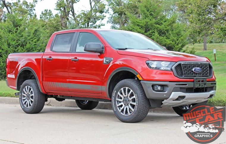 2020 Ford Ranger Side Stripes NOMAD ROCKER 2019-2020