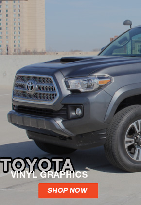 2010-2021 Toyota Stripes, Toyota Decals, Toyota Vinyl Graphics, and Toyota Side Door Body Striping Kits