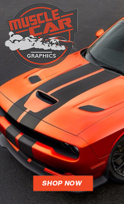 MuscleCar Pro Series Vinyl Graphics and Auto Stripes