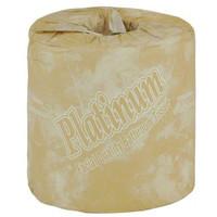 Bathroom Toilet Tissue Platinum I, 2ply White 12 Rolls.