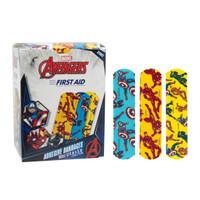 """Bandages Adhesive Avengers 3/4""""x3"""" 100/bx (Dukal)"""