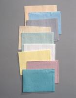"""Patient Bibs 3-Ply Polyback Towels 13"""" x 18"""" Gray 500cs (Tidi)"""