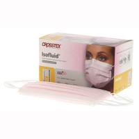 Earloop Masks Pink SecureFit Isofluid 50pk (Crosstex)