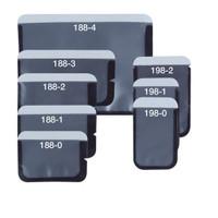 Barrier Envelopes Size #1, Long Side Opening #100/bx (Plasdent)