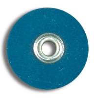 "Sof-Lex Discs, Medium 1/2"", Pop-On, Dark Blue, Package of 85."