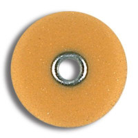 "Sof-Lex XT, Extra Thin, Discs, Fine 1/2"", Pop-On, Polyester Film, Light Orange, 85pk."