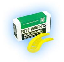 Bite Wafers Lemon Yellow No Foil 50pk (Hygenic)
