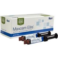 Maxcem Elite, Brown Refill, 5gm Syringe, Package of 2. (Kerr)