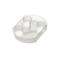 """Dispos-A-Trap Model #5505, Disposable Evacuation Trap Screen, 3 3/4"""" Diameter, Package of 144."""