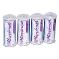 Microbrush Tubes, White, Superfine, Package of 400.