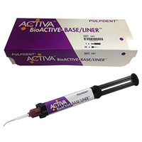 Activa Bioactive Base/Liner SINGLE Pack, Package of 1 x 5 ml/7gm Syringe, 20 Automix Tips.