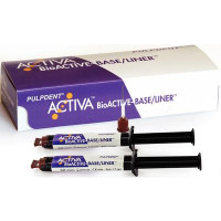 Activa Bioactive Base/Liner VALUE Pack, Value Pack, 2 x 5 ml/7gm Syringes , 40 Automix Tips.
