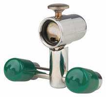 Eye Wash Station Fountain, mounts behind faucet, Opti-Klens, Package of 1. (Desert)