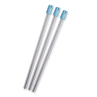Disposable Saliva Ejectors Clear/Blue Tips 100pk
