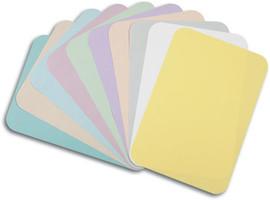 "Tray Covers B, 8-1/2"" x 12-1/4"" GREEN Ritter  1000/Box"