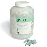 GS-80 Capsule 2-Spill, Regular Set 500pk (SDI)