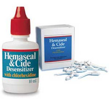 Hemaseal & Cide Desensitizer with 4% Chlorhexidine, 10 ml Bottle