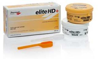 Elite HD+ Putty Soft, Fast Set - Yellow, 250 mL Base and 250 mL