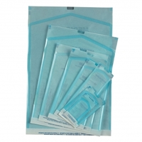"Sterilization Pouches, 4.25"" x 12"", Color Changing Indicator, Box of 200."