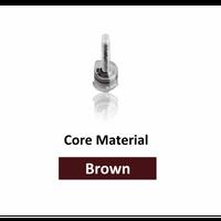 DX-Mixer Tips, Brown (3.5 cm Length), 1:1 Ratio, 2.5 mm Inner Diameter, Pack of 50.