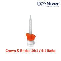 DX-Mixer Tips, Orange Wings, 10:1 / 4:1 Ratio, Package of 48.