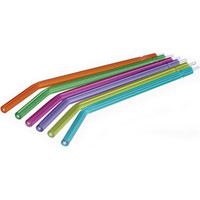 5 Bag of 250 (1250 Tips)Disposable  Syringe Tips, Crystal Tips Type, Assorted colors, Water Tips. FREE Shipping.