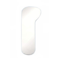 """Plasdent Wide Buccal Intraoral Photography Mirror, 2 1/4""""x 5 1/2""""x 1 3/5"""". Free Shipping."""
