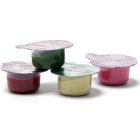 9 Boxes of 200 (1800 Dose Cups) Coarse grit, Assorted Flavors Prophy Paste with Fluoride. Free Shipping.