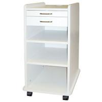 TPC Utility Mobile Cabinet, White.