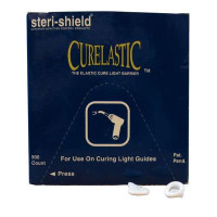 Steri-Shield Curelastic Cure Light Barriers, fit guides 8 -10 mm, 500/box.