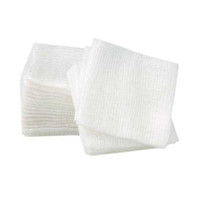 "Nivo  4"" x 4"" 4-Ply Gauze Non-Sterile Non-Woven Sponges, Box Of 200."