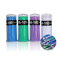 Microbrush Applicators - Fine tips. 100 applicators.