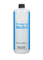 House Brand Isopropyl Alcohol 70% - 1 Quart Bottle