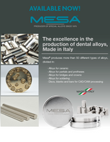 Mesa GPN Alloy : Dental Training Alloy. (CU-AI 2.2lb)