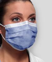 Isofluid Earloop Mask Level ASTM Level I, Lavender 50pk, GCILV (Crosstex)