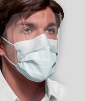 Ultra FogFree Earloop Mask w/ Shield Level III ASTM, Blue 25pk (Crosstex)
