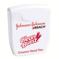 Dental Reach Floss Clean Burst Cinnamon Trial Size 5yd 144/Bx (J&J)