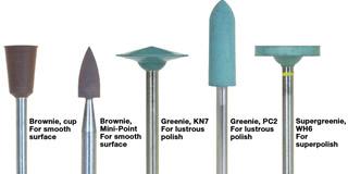 Greenie Point WH6, HP Shank 12pc (Shofu)