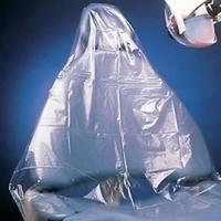 "Half Chair Sleeve Clear 27 1/2""Wx24""L, 3 x 225/Bx (675pcs) *Free Shipping*"