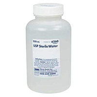Irrigation Sterile Water - 500 ml Bottle (Expires 01-24-21)