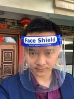 Nivo Full Face Shield Visor Mask with Foam Forehead Band and Elastic Strap, 20/Pk *Free Shipping*