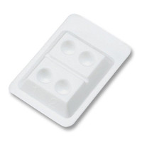 NIVO 4-Well Disposable Mixing Well. Box of 200