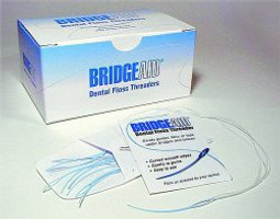Bridge Aid Dental Floss Threader 100 x 10 (Flossaid)