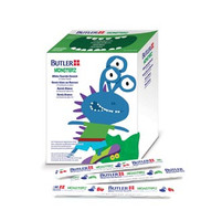 Monsterz Fluoride Varnish, (3) Assorted Flavors (Mint, Cherry, Strawberry), Individually-Sealed Unit Dose Trays, 45/bx