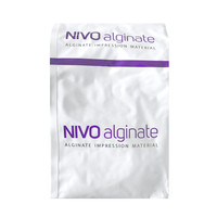 NIVO Alginate, Fast Set, Chromatic, Color-changing, & Dustless, 1lb Pouch.