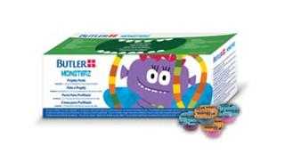 Monsterz Prophy Paste, (3) Assorted Flavors (Cherry, Mint, Bubblegum), Medium, 200/bx (Butler)