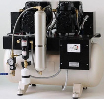 JM Oil-less CompressorJM224 (2x 2.0HP motor, 230V, 30 Gallons)