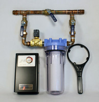 Water Bypass System, Water Filter w/ Solenoid WBP34LV (JDS)